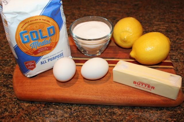 Lemon icebox cookies ingredients