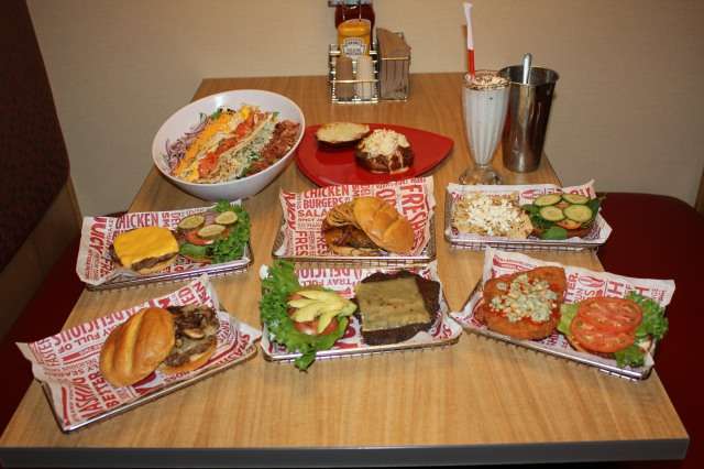 Smashburger Tasting menu items