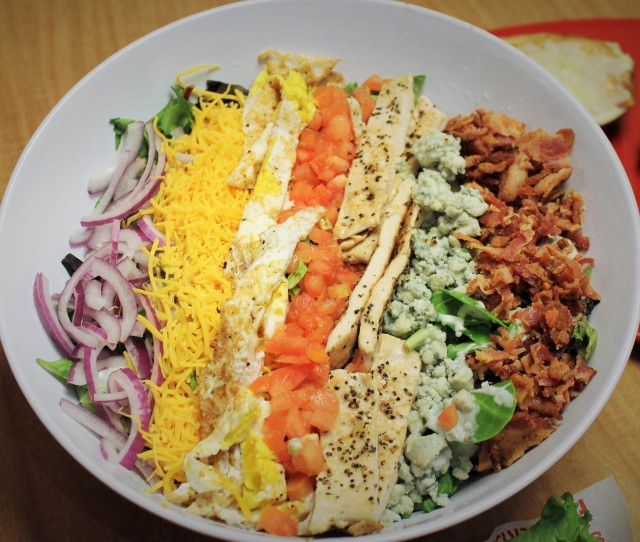 Smashburger's Classic Cobb salad