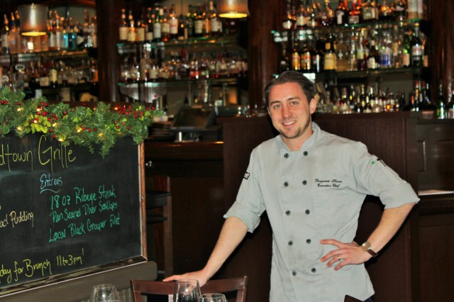 Executive Chef Benjamin Harris