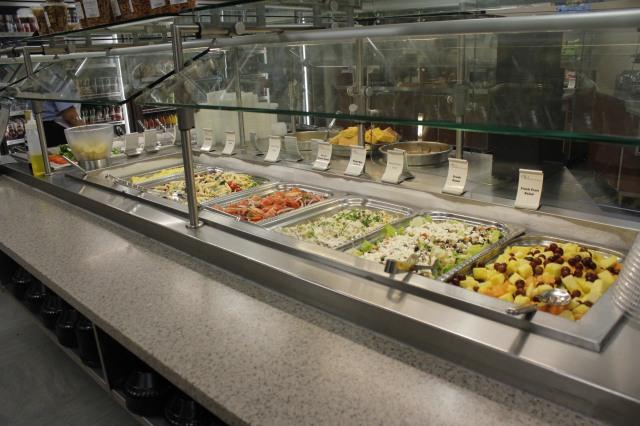 Salads at Rex