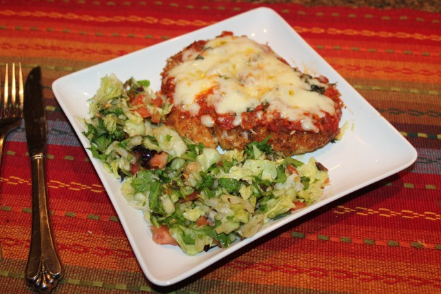 Chicken parm ready to eat!