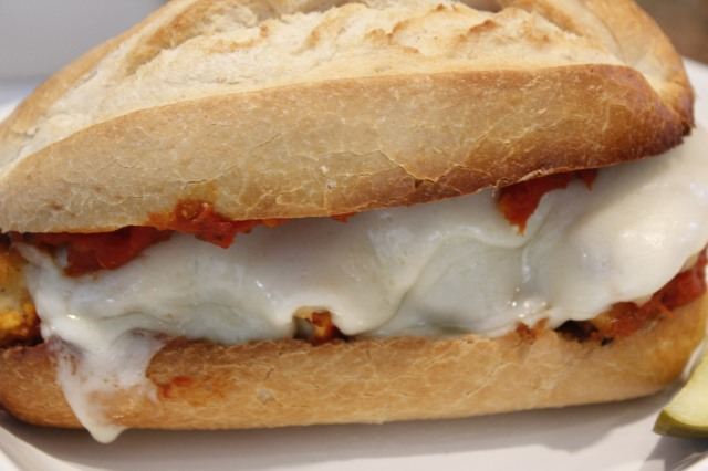 Chicken parm sub