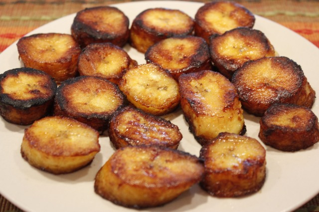 Kel's fried sweet plantains