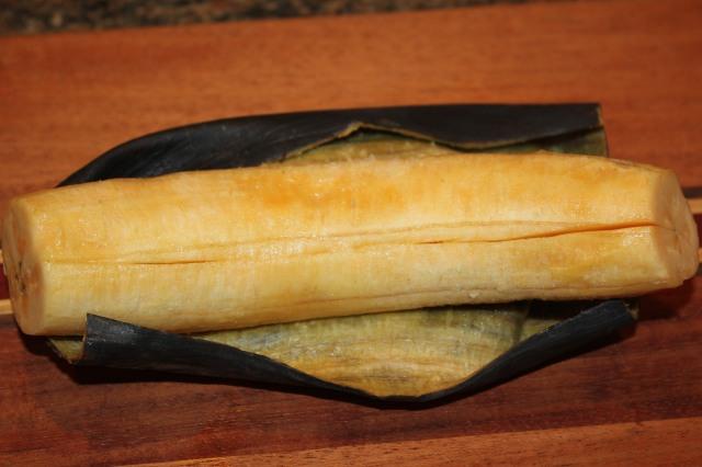 Peel plantain