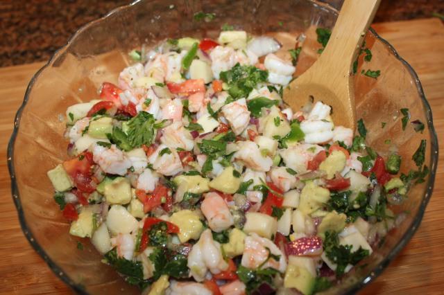 Kel's Shrimp Ceviche