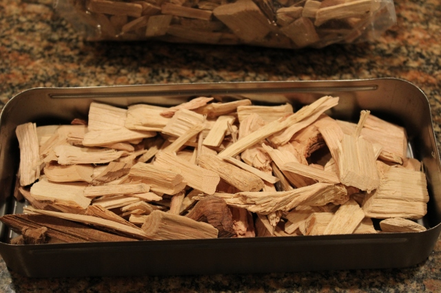 Fill box with hickory