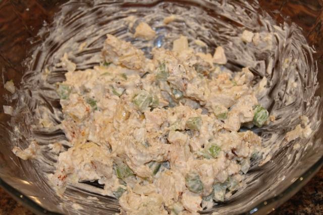 Hickory lemon Chicken salad