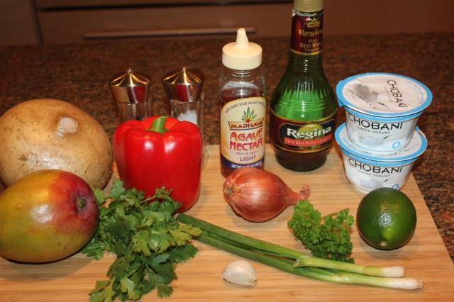 Jicama slaw ingredients