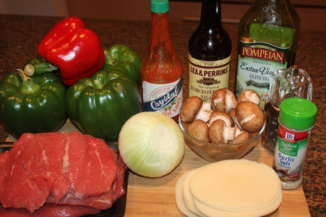 Kel's Cheesesteak peppers ingredients
