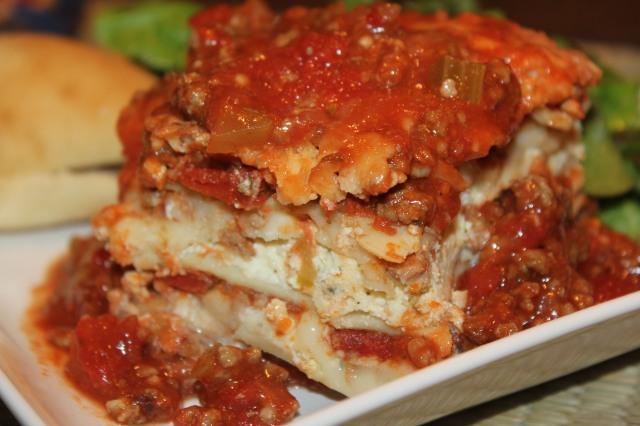Kel's classic lasagna