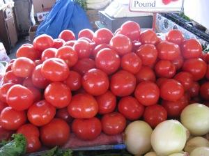 Farmer's market - tomatoes