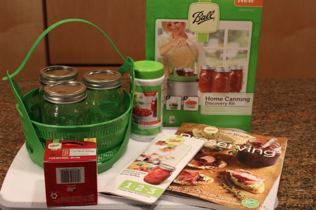 Ball Canning Discovery kit and other goodies