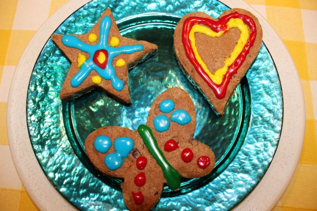 Fun cookie shapes!