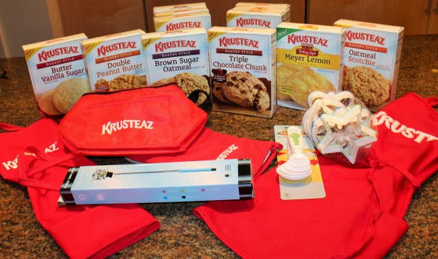 Krusteaz goodie package