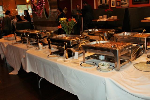 Buffet Mesa Kitchen