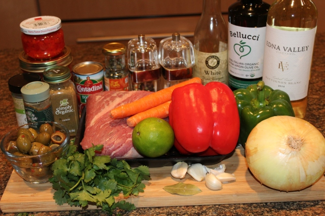 Kel's Ropa Vieja Ingredients