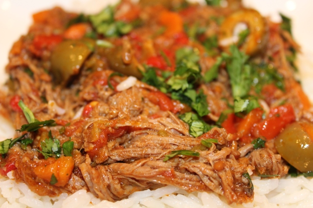 Kel's Ropa Vieja up close