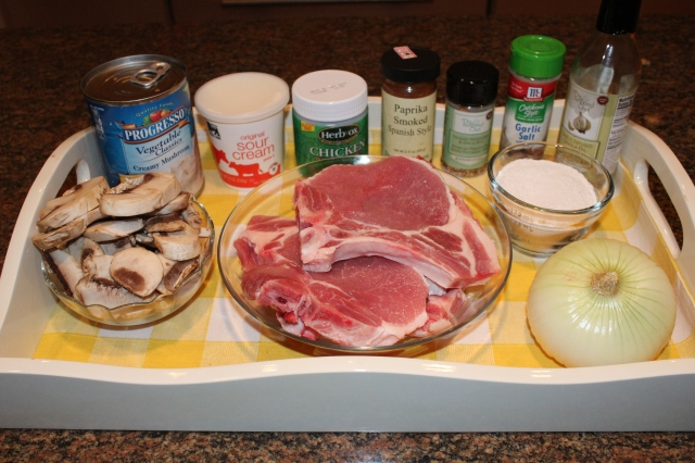 Kel's Smothered Pork Chops ingredients