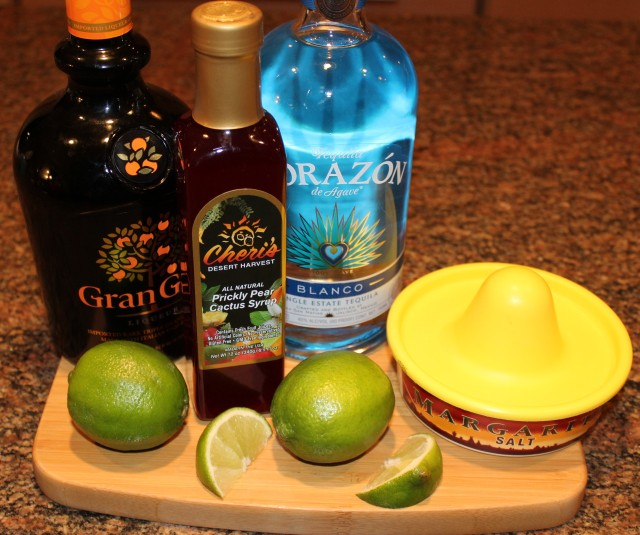 Kel's Prickly Pear Cactus Margarita ingredients
