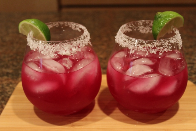 Kel's Prickly Pear Cactus Margaritas