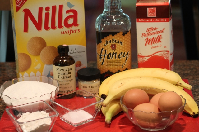 Kel's banana pudding ingredients