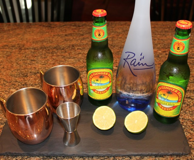 Kel's Moscow Mule ingredients
