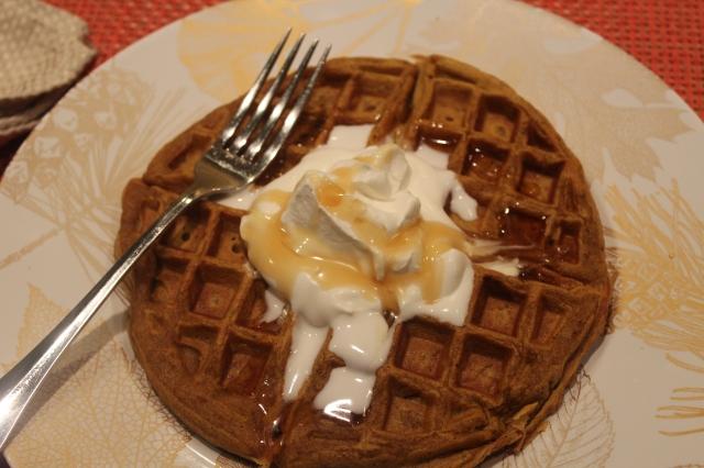 kels-pumpkin-spiced-belgian-waffles