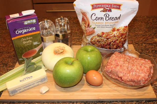 kels-apple-sausage-cornbread-stuffing-ingredients