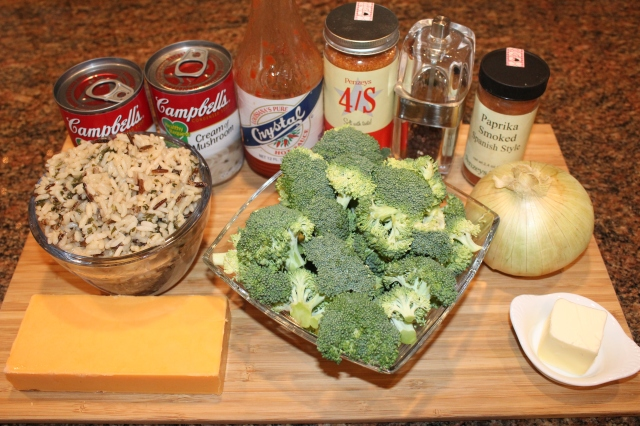 kels-broccoli-cheddar-wild-rice-casserole-ingredients