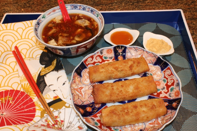 serve-kels-shrimp-egg-rolls-with-hot-and-sour-soup