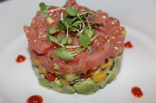 Seasons 52 ahi tuna tartare