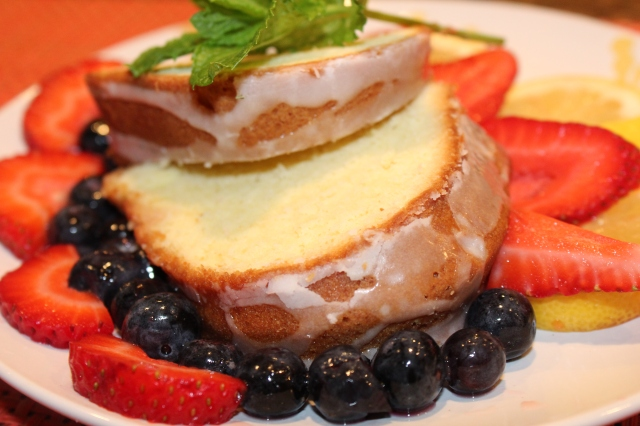 Kel's lemony poundcake greatness