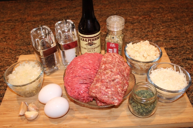 Kel's Italian meatballs ingredients