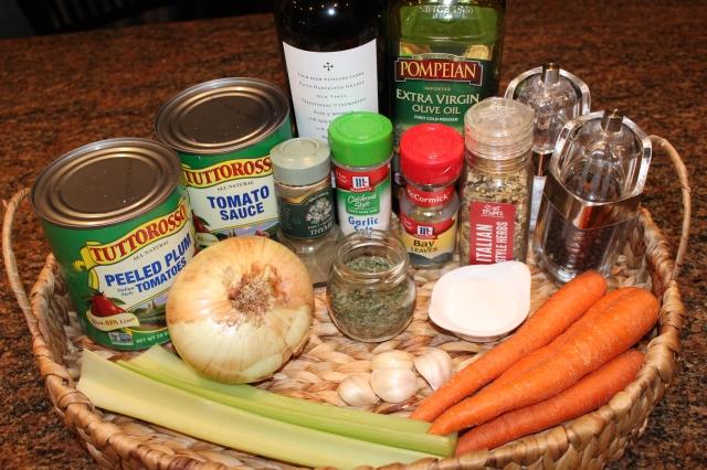 Kel's marinara sauce ingredients