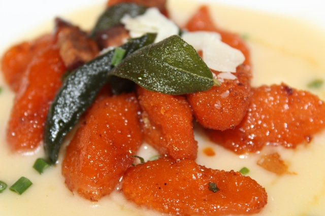 Seasonal gnocchi at State View