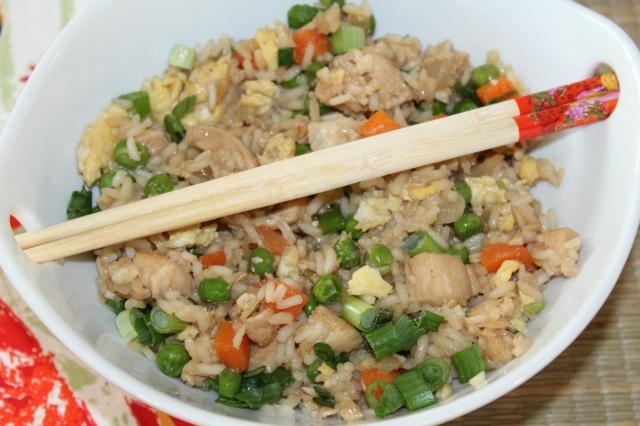 Kel's chicken fried rice
