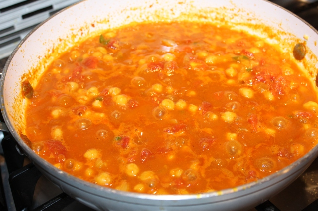 Simmer Kel's classic chana masala