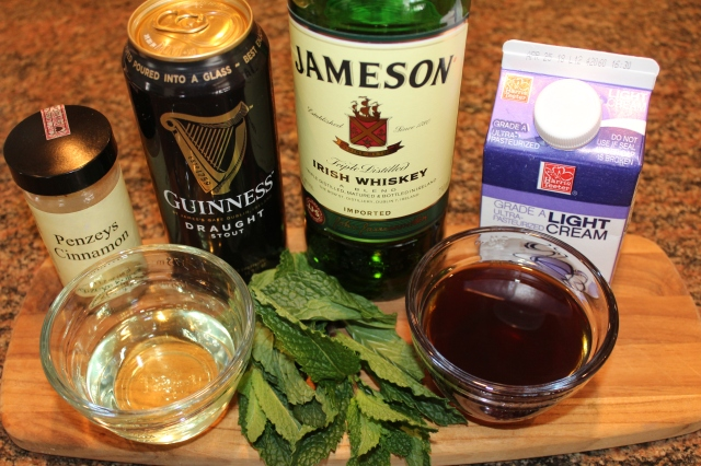Kel's Mint Irish Iced Coffee ingredients