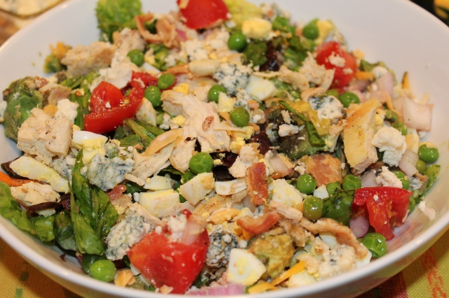 Tossed Cobb salad