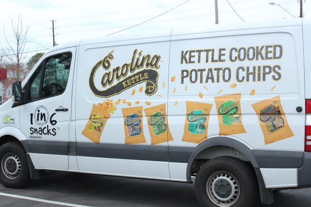 Carolina Kettle Chips van