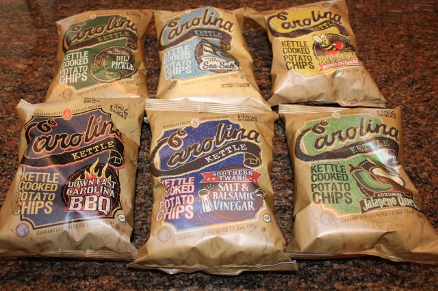 Flavors of Carolina Kettle Chips
