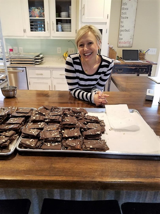 Rebecca Burnett of Durham Toffee
