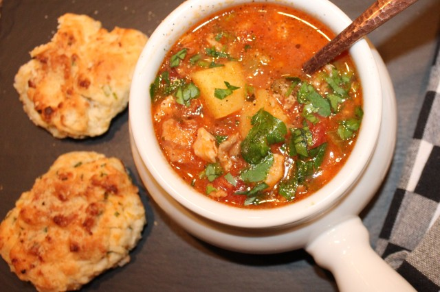 Kel's Manhattan clam chowder