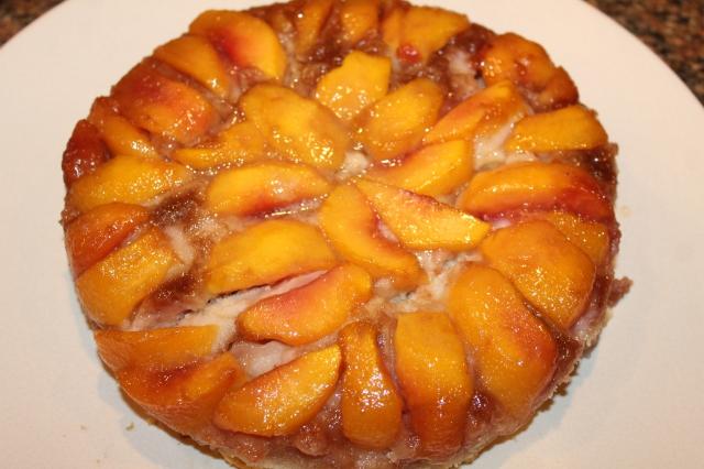 Kel's peach cake