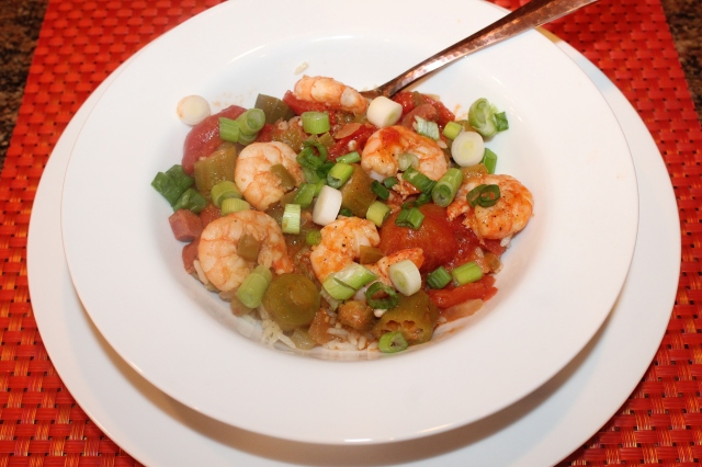 Kel's Cafe Shrimp Creole