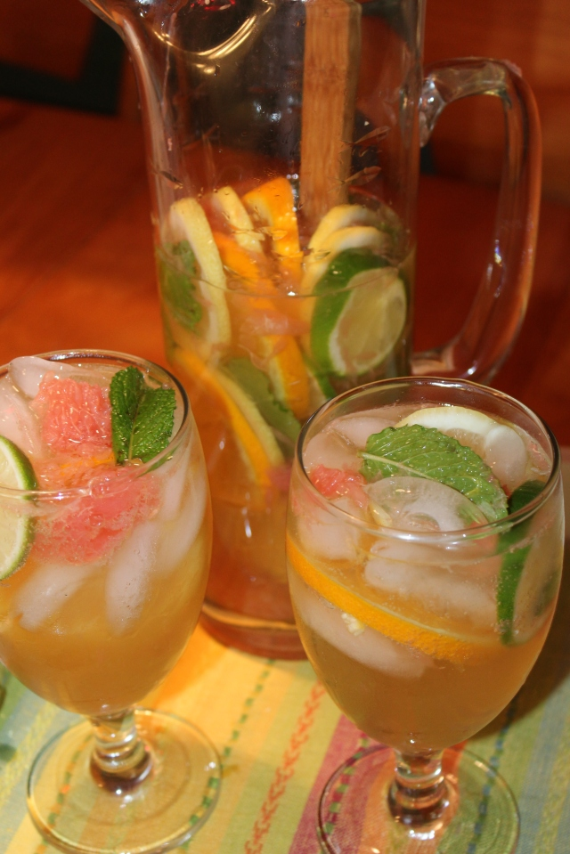 Kel's Summertime Citrusy Sangria